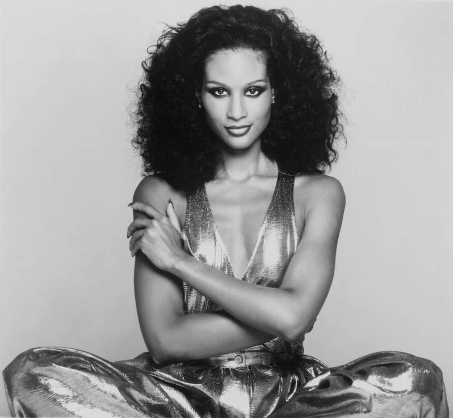In 1974, model Beverly Johnson became the first black model to appear on the cover of American Vogue. Here she is seen 1977, age 24. Photo: Gems, Redferns