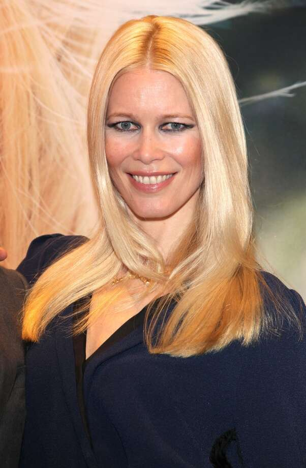 Claudia Schiffer, in 2014, now has her own cashmere brand, works with UNICEF and has three kids with her director husband Matthew Vaughn. Photo: Gisela Schober, Getty Images
