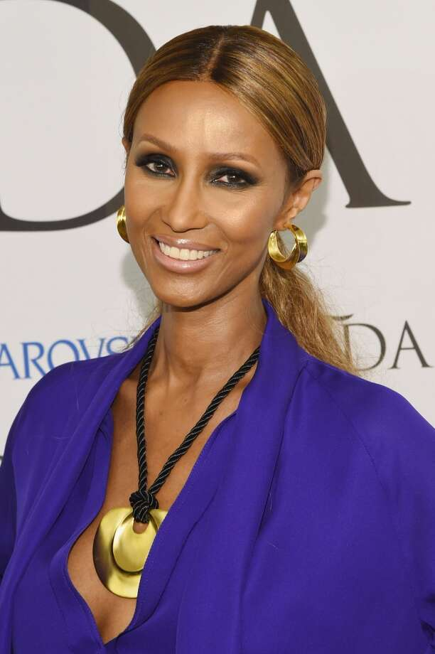 Iman, also wife of pop star David Bowie, runs a multi-million-dollar cosmetics company. Here she is in 2014. Photo: Larry Busacca, Getty Images