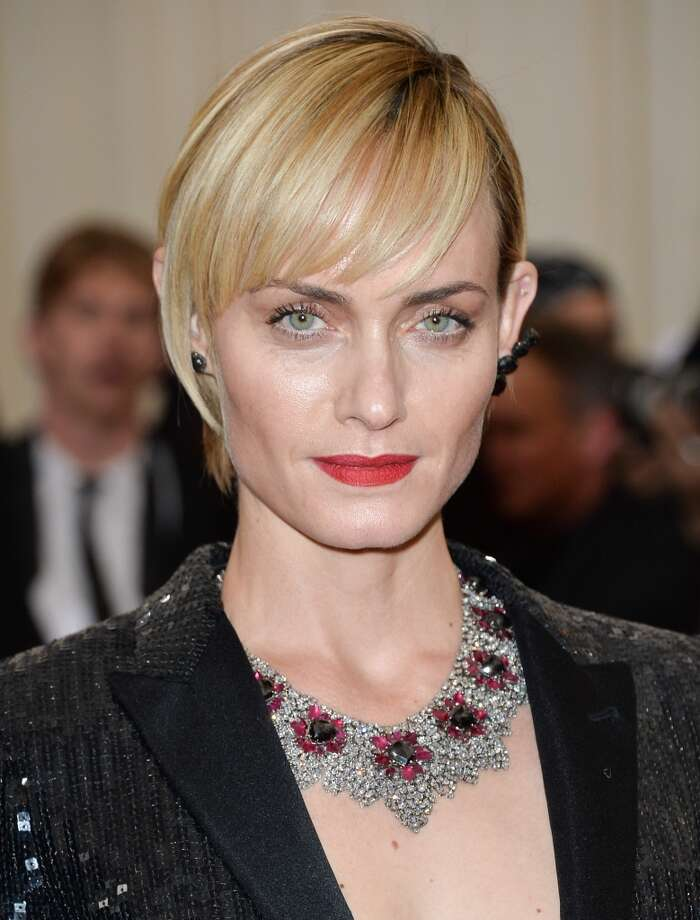 "Amber Valletta in 2014. She's now turned her focus to acting, appearing in ABC's hit drama ""Revenge."" Photo: George Pimentel, WireImage"