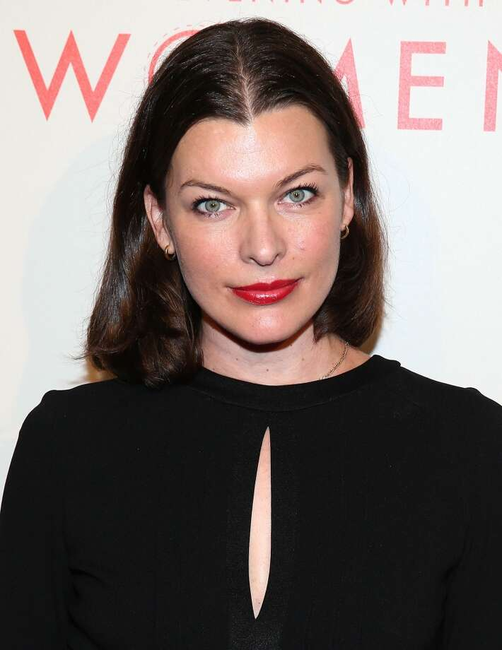 Milla Jovovich, now better known as an actress, in 2014. Photo: Imeh Akpanudosen, Getty Images