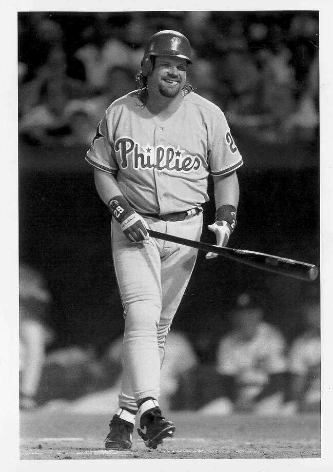 "MOST MEMORABLE AT-BATWhen John Kruk stood in against Randy Johnson, during 1993 game in Baltimore, the 6-foot-10 Johnson's first pitch was a 98-mph fastball that sailed over Kruk's head and hit the backstop. Kruk was dazed and amused as he backed off from three more pitches, all strikes.In a rare on-field moment, Johnson cracked a smile.""It was probably the most fun I had in an All-Star Game,"" Johnson said. ""John played it off well. It went over well. Everybody liked it. It's one of those things that everybody remembers now.""  Photo: Carlos Osorio, Ap"