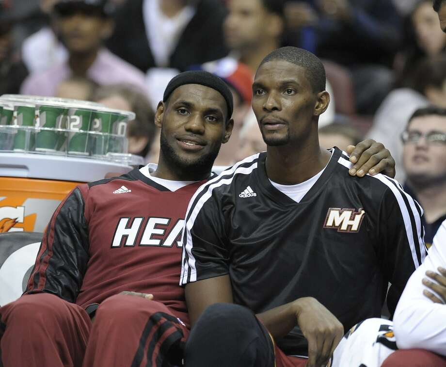 Chris Bosh agreed to a five-year, $118 million deal to stay with Miami. Photo: Michael Perez, Associated Press