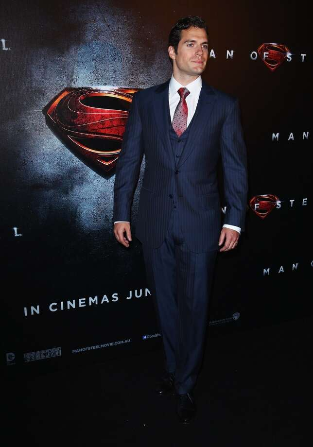6) HENRY: Could the hunky actor Henry Cavill be behind this name's growing popularity? Photo: WireImage