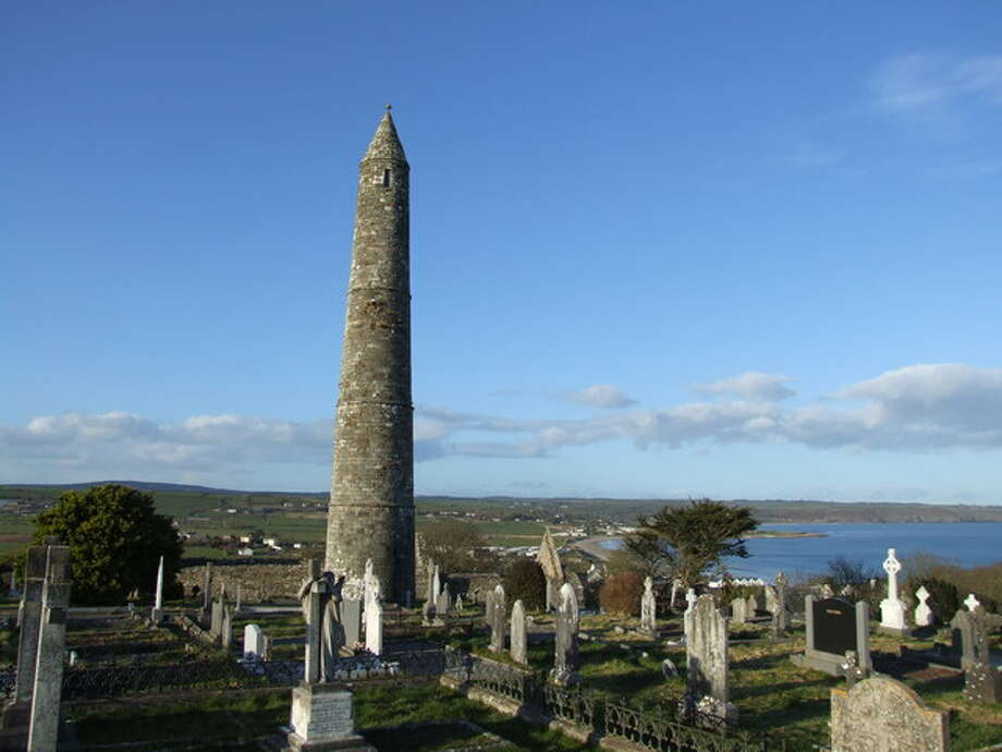 2) DECLAN: Declan was an early Irish saint and there's a church named after him in Ardmore.