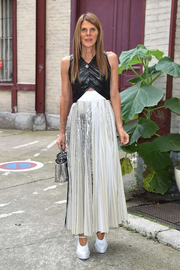Anna Dello Russo arrives to attend the Maison Martin Margiela show as part of Paris Haute Couture Fashion Week on July 9, 2014 in Paris, France. Photo: Jacopo Raule, GC Images