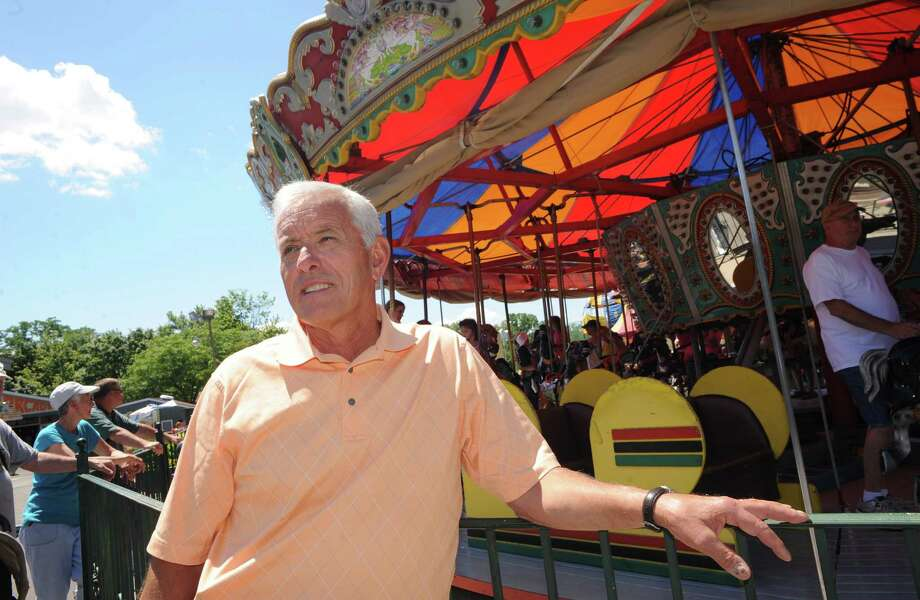 David Hoffman owner of Hoffman's Playland at the historic amusement park on Friday July 11, 2014, in Colonie, N.Y. This will be the parks final season of operation. (Michael P. Farrell/Times Union) Photo: Michael P. Farrell / 00027756A