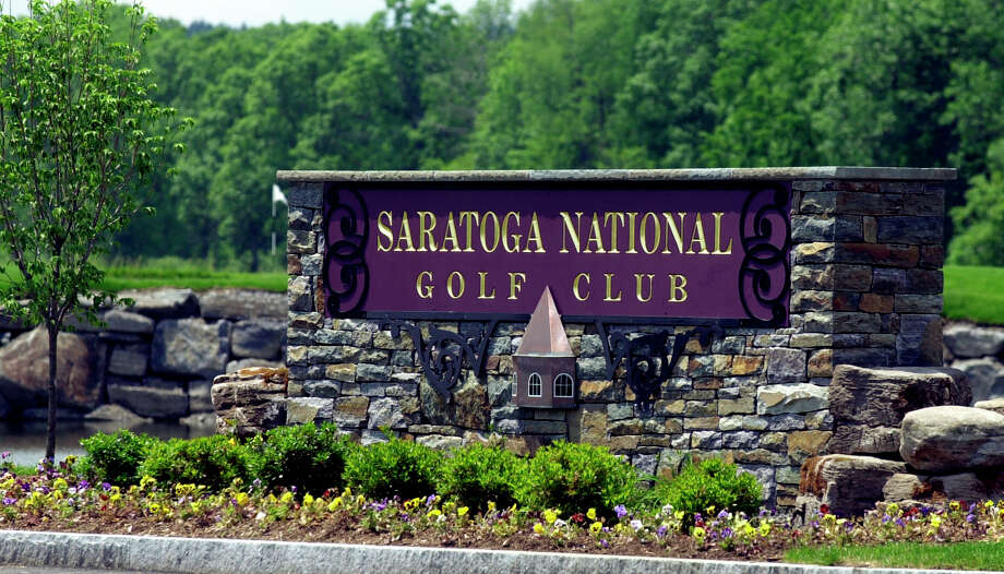 Times Union  Photo by Skip Dickstein --The main entrance at the Saratoga National Golf Course. Photo: SKIP DICKSTEIN / ALBANY TIMES UNION
