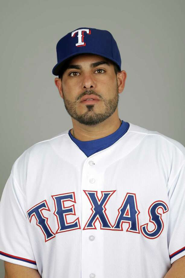 This is a 2014 photo of Geovany Soto of the Texas Rangers baseball team. This image reflects the Rangers active roster as of Tuesday Feb. 25, 2014, when this image was taken. (AP Photo/Tony Gutierrez) Photo: Tony Gutierrez, STF / MLBPV AP