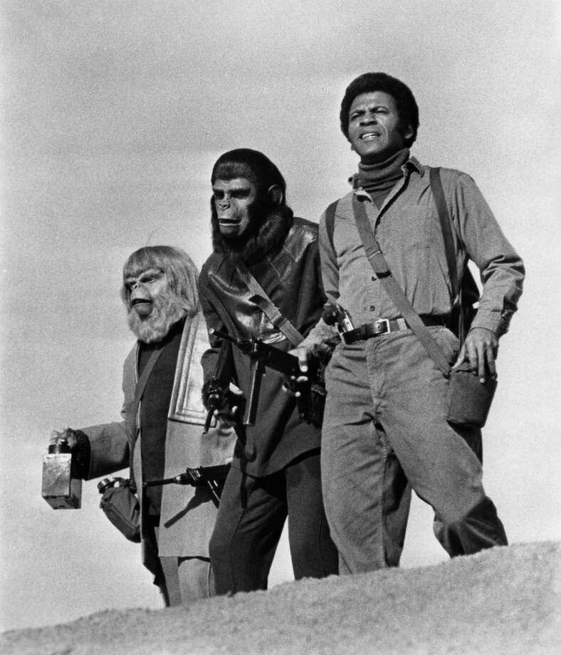 "1973: ""Battle for the Planet of the Apes"" was the final movie in the original series. But with low budget quality, it could not do justice to the epic final battle between man and ape. Photo: Michael Ochs Archives, Getty Images / Moviepix"