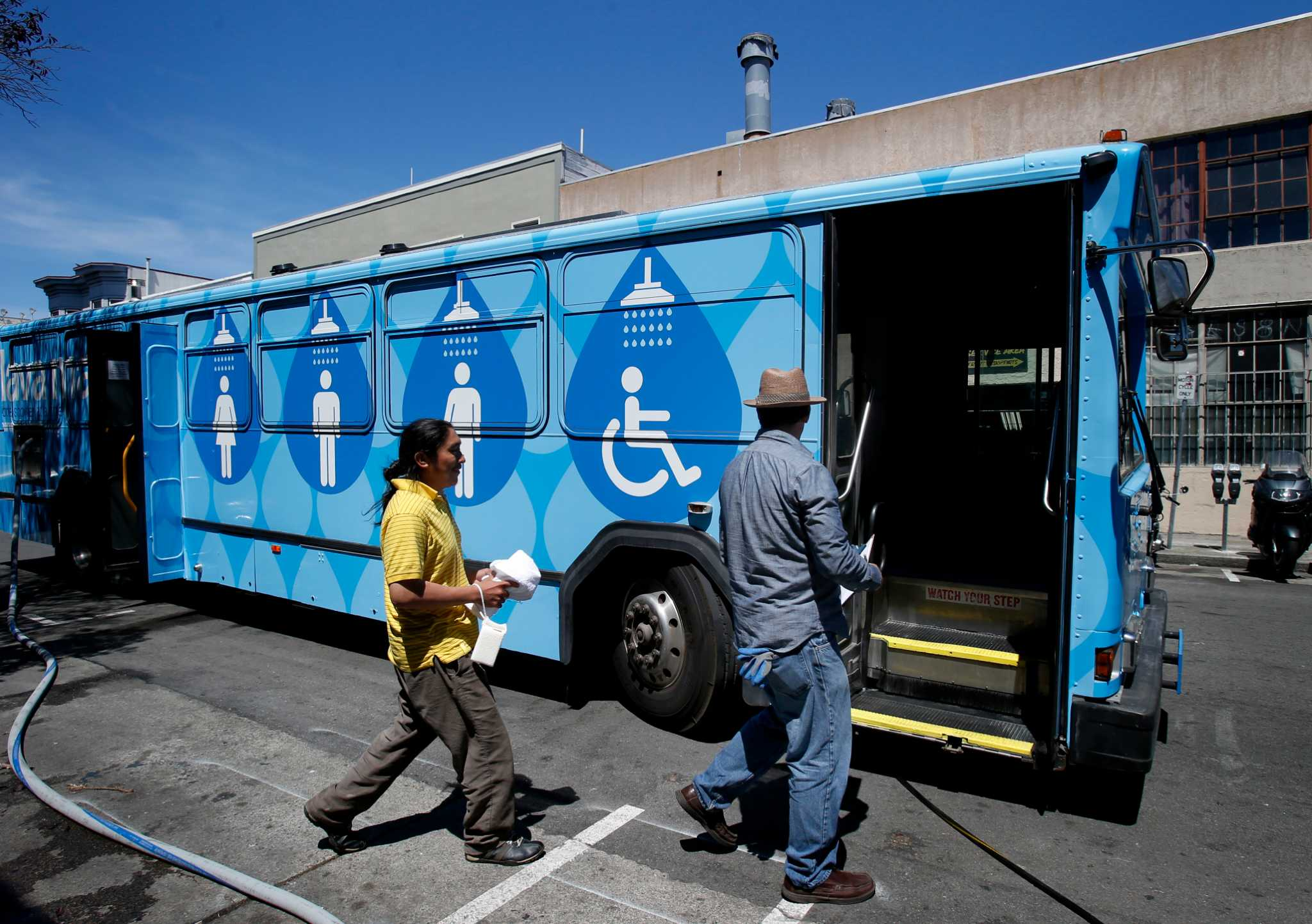 Accolades pour in for Lava Mae mobile shower stalls - SFGate