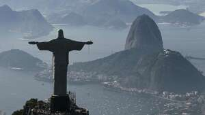 Rio de Janeiro's famed Christ the Redeemer statue had to be repaired after its head and two fingers were damaged by lightning. The statue is a popular tourist attraction.
