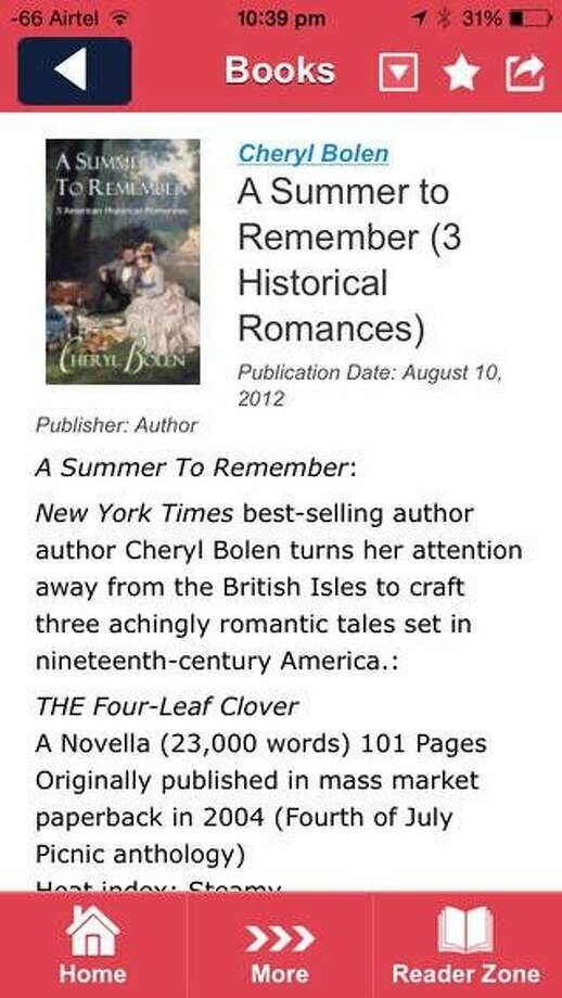Novel Engagement is a mobile app for romance novel fans. Photo: Romance Writers Of America, Inco