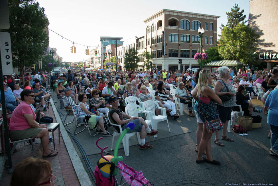 Schenectady County SummerNight. Featuring family-friendly entertainment and performances including bands, street performers, a giant sand sculpture and great food. Headlining this year's event is Grammy nominated '90s band Gin Blossoms, known for such hits at Hey Jealousy, Found Out About You, and Allison Road.When: Friday, July 15, 5 - 10 PM. Where: State & Jay Streets, Downtown Schenectady. For more information, visit the website.