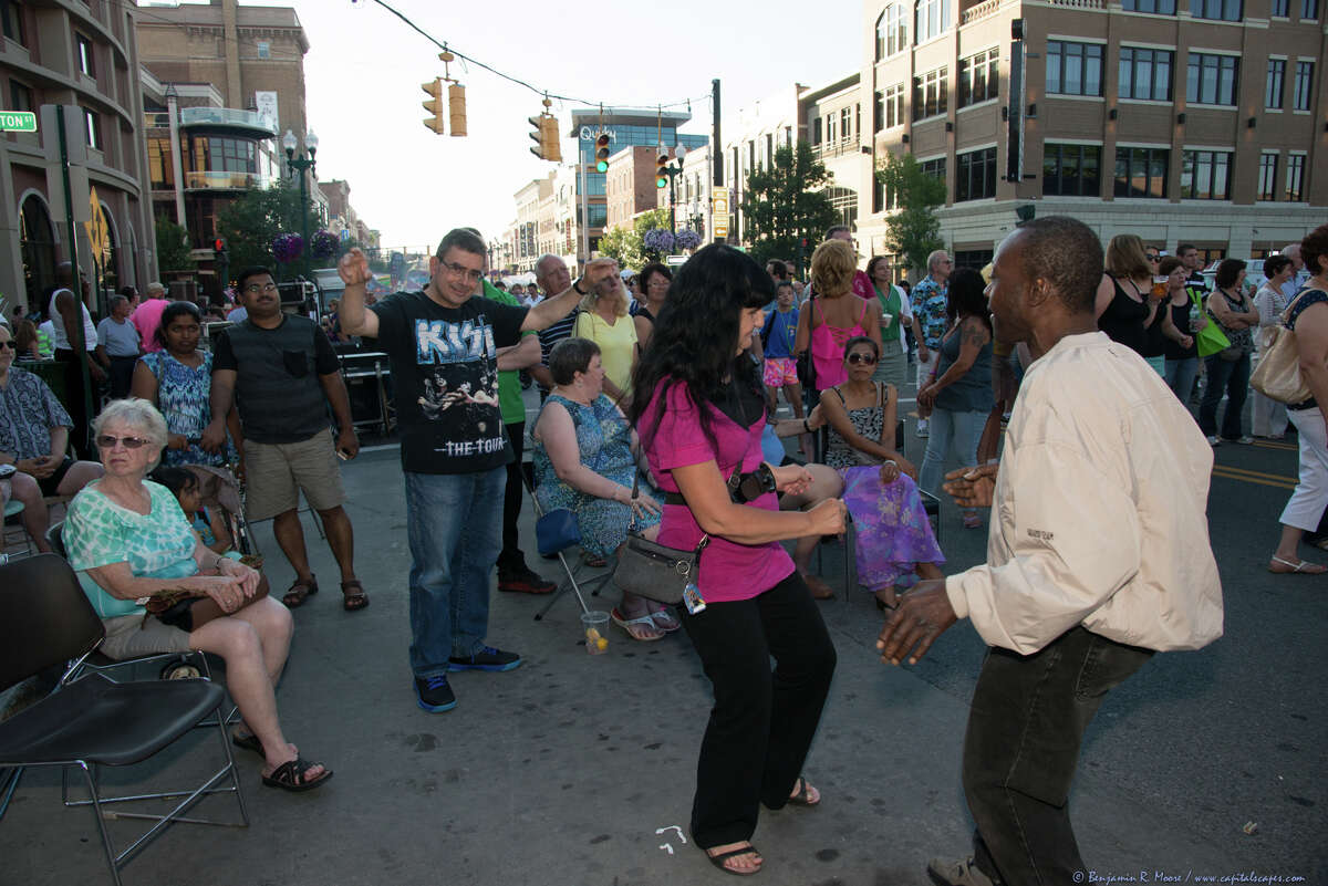 Were you Seen at the Schenectady County 'SummerNight' beach party held on Jay and State streets in Schenectady on Friday, July 11, 2014?
