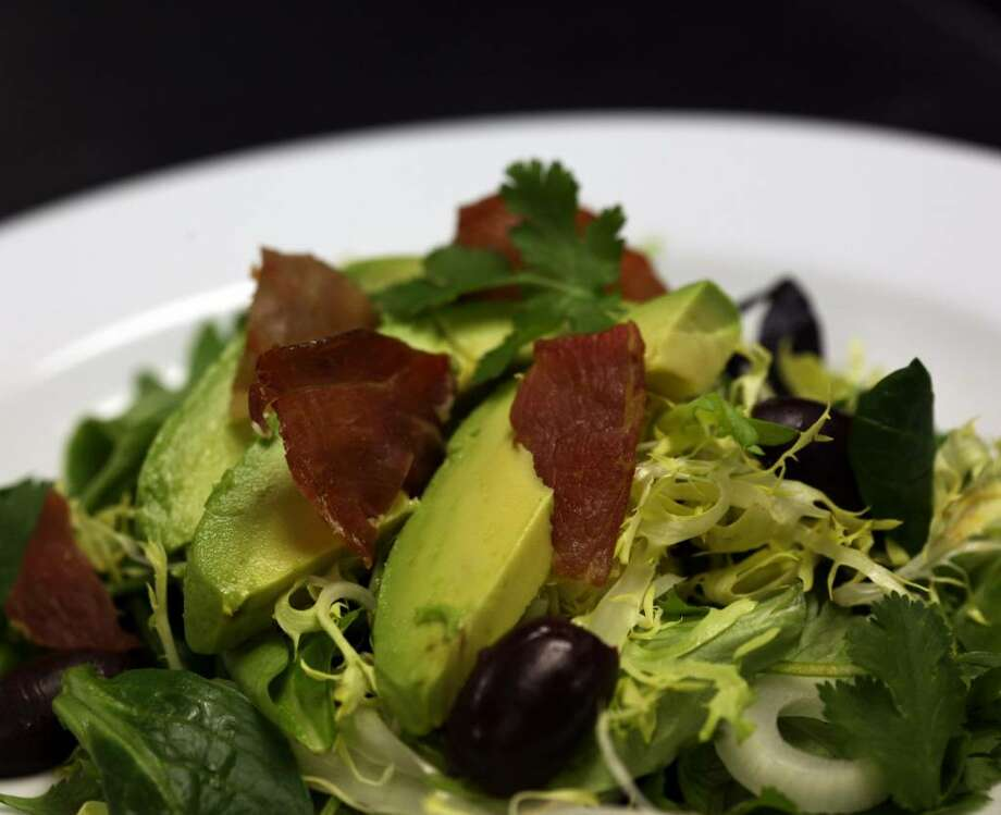 You can use avocado to make a dip or as a spread for sandwiches or add to this Crispy Prosciutto Salad. (Susan Tusa/Detroit Free Press/MCT) Photo: SUSAN TUSA, MCT / Detroit Free Press