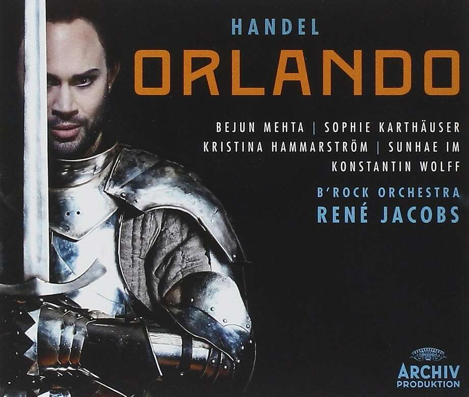 CD Cover: Handel's Orlando Photo: Archiv Records