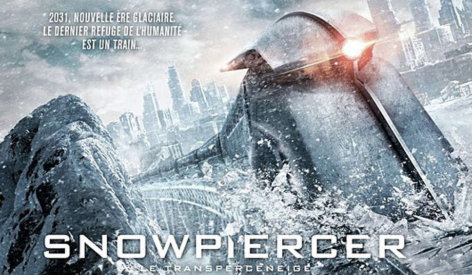 """Snowpiercer"" is a fantasy, action thriller about a rebellion on a survivalists' train traveling around the globe in a new Ice Age. Photo: Contributed Photo / Westport News"