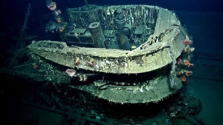 U-166For many years, the military believed that the U-boat had escaped and was destroyed the next day in another part of the Gulf by a Coast Guard plane.  The error wasn't remedied until the wrecks were discovered only a few miles apart in 2001. Proper credit was given to PC-566, the U.S. submarine escorting the SS Robert E.Lee, last week at a ceremony at the Pentagon. Photo: Ocean Exploration Trust