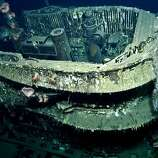 U-166 Close up Those depth charges sank the U-boat with all hands. The wreck is considered a war grave and cannot be disturbed.