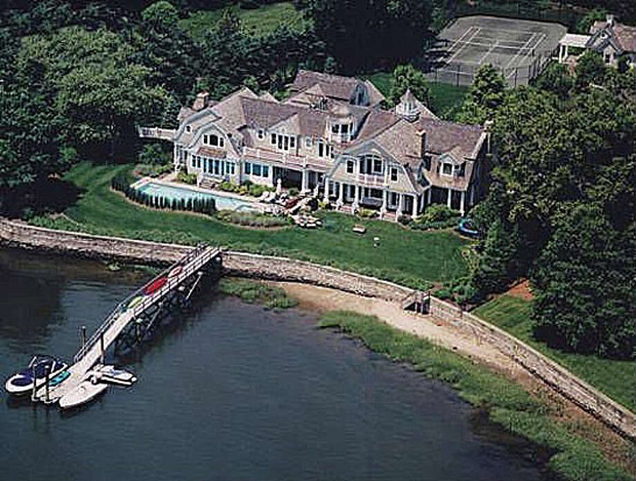 The recent sale of property at 2 & 4 Charmers Landing was recorded at $7,600,000. Photo: Contributed Photo / Westport News