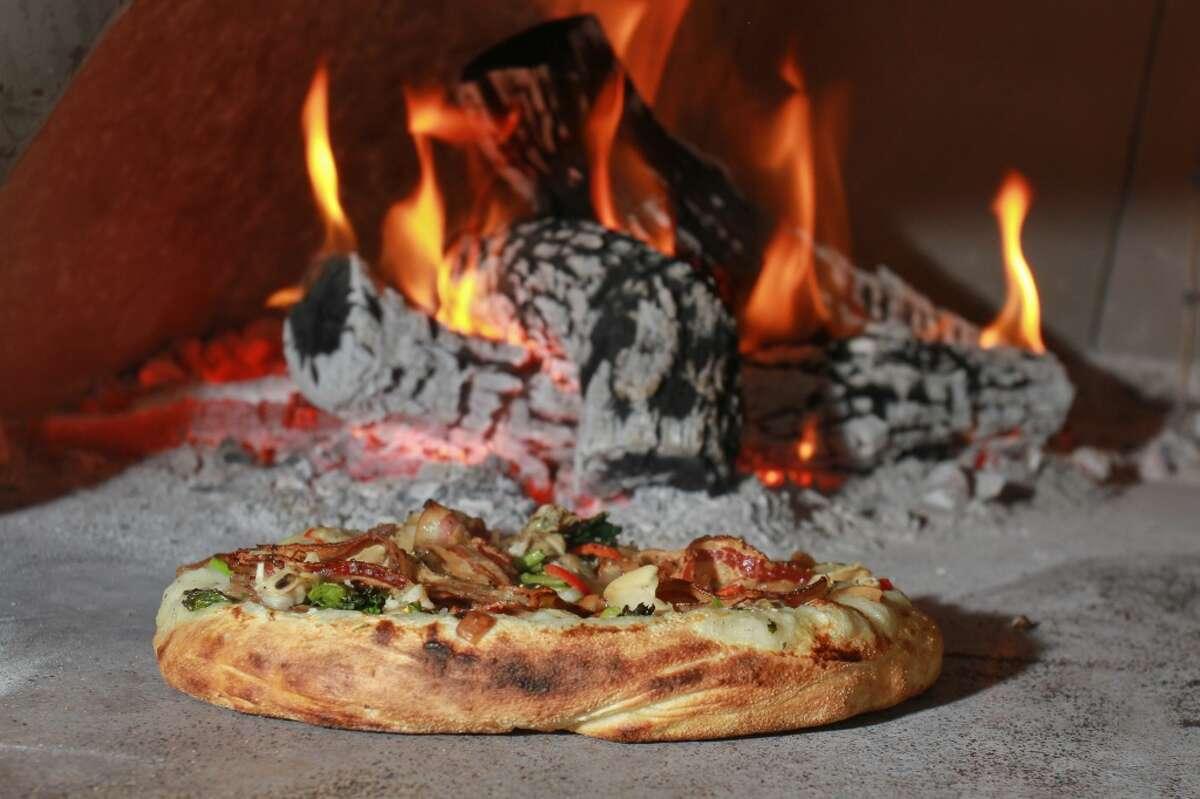 Coltivare Cuisine: ItalianDish: Texas 1015 clam, pancetta, thyme and rapini pizzaWhere: 3320 White OakPhone: 713-637-4095Website: coltivarehouston.com