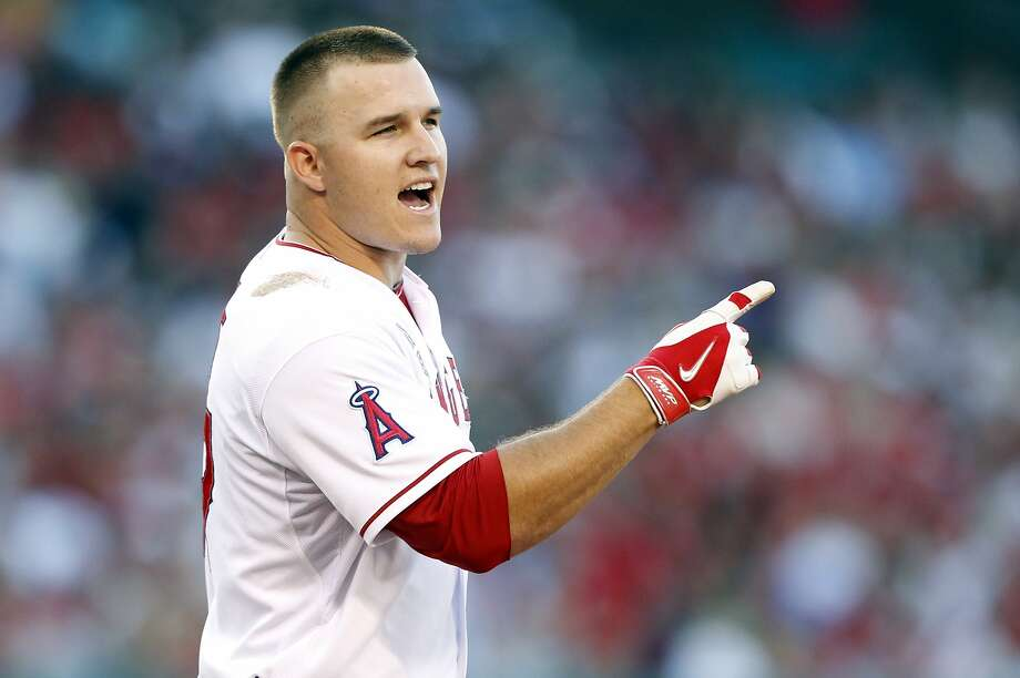 Mike Trout: Outfielder could become AL MVP. Photo: Alex Gallardo, Associated Press
