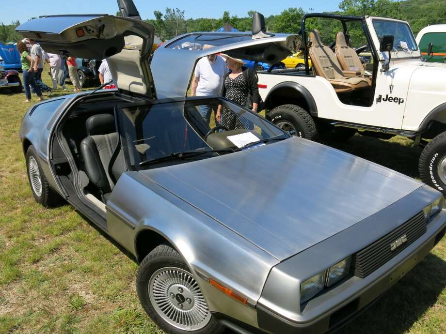 1981 DeLorean. Blaise deSibour, Blue Hill ME.