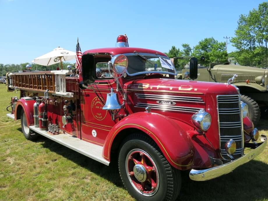 1940 Mack fire truck. Chris Niehoff, Blue Hill ME.