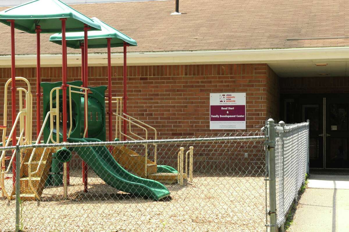 Lincoln Square Head Start had two violations for withholding, or using food, rest or sleep as punishment between October and November 2013. The day care also had a violation for using a method of discipline that could frighten a child, and a violation under general abuse and maltreatment regulation. They were all for one incident in which a staff member forced a fork-full of food up to a child's mouth. The center is seen at 3 Lincoln Square on Thursday July 3, 2014 in Albany, N.Y. (Michael P. Farrell/Times Union)