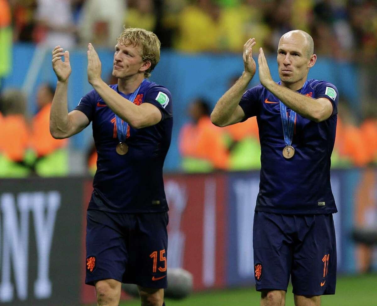 July 12 - 3rd-place game Netherlands 3, Brazil 0