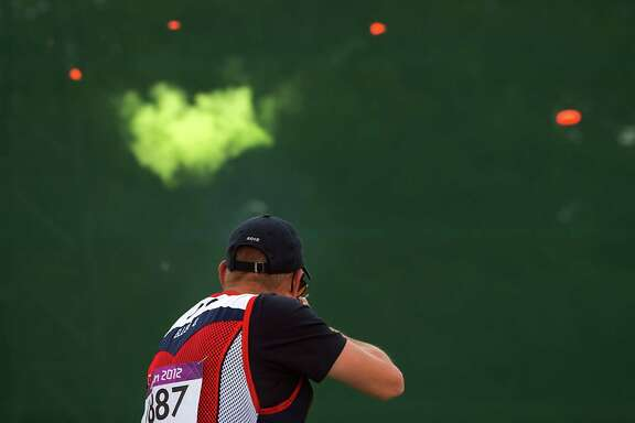 Army Sgt. Glenn Eller was on a career downturn at the 2012 Olympics in London, where he finished 22nd in the men's double trap competition, but he has bounced back since then and won the double trap world title last year.