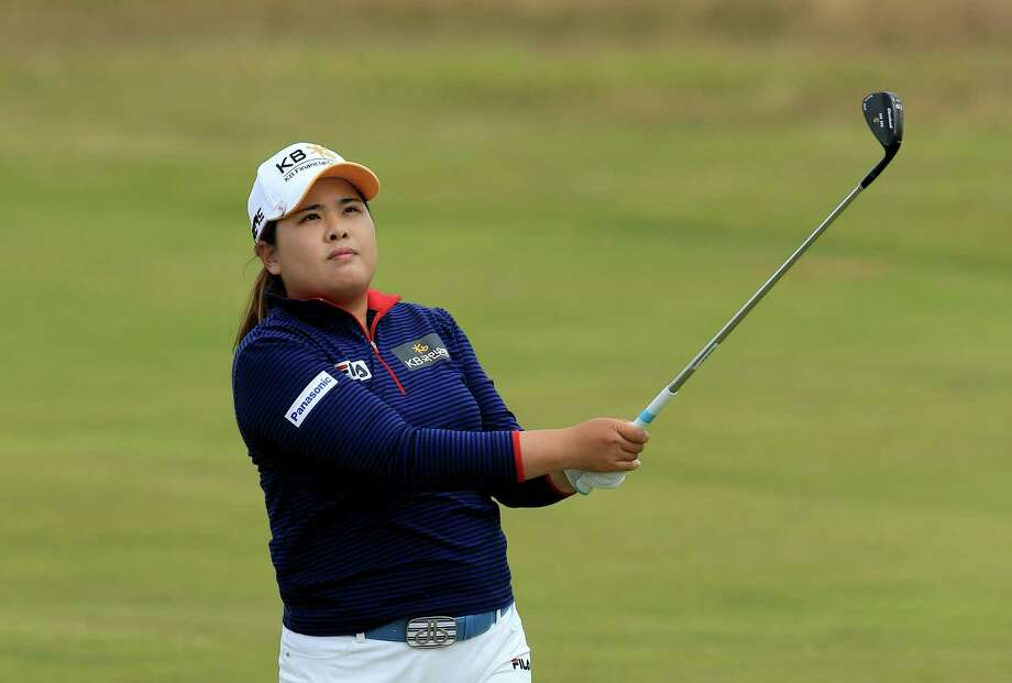 SOUTHPORT, ENGLAND - JULY 12:  Inbee Park of South Korea plays her second shot at the par 4, 16th hole during the third round of the 2014 Ricoh Women's British Open at Royal Birkdale on July 12, 2014 in Southport, England.  (Photo by David Cannon/Getty Images) ORG XMIT: 497277715 Photo: David Cannon / 2014 Getty Images