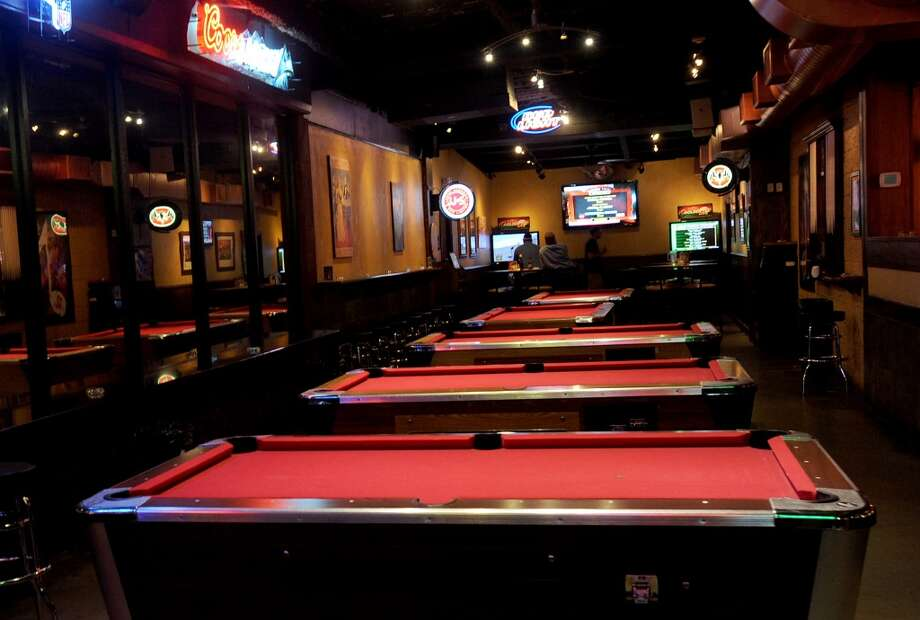 Guests can enjoy the game room and pool tables at Dylan's in Port Arthur. Photo taken Wednesday, February 22, 2012 Guiseppe Barranco/The Enterprise Photo: Guiseppe Barranco/The Enterprise
