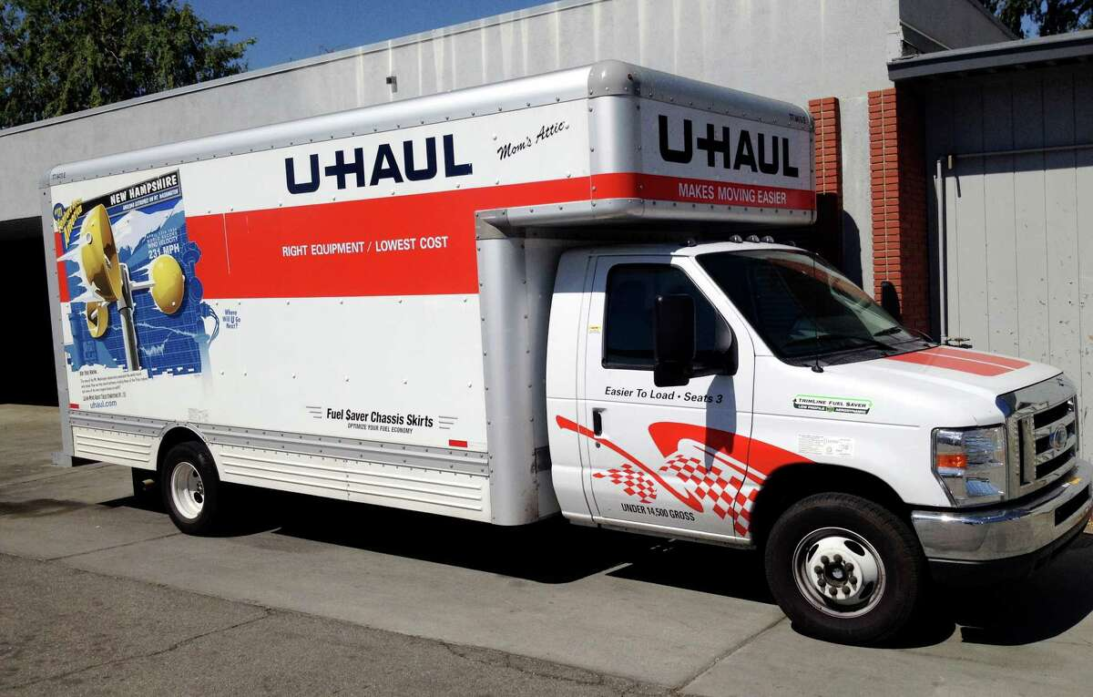 FILE -- A man in a U-Haul truck escaped Wednesday night after leading law enforcement officers on a marathon high-speed chase from Santa Rosa to San Francisco, officials said Thursday.