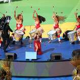 Singer Shakira performs during the closing ceremony prior to the 2014 FIFA World Cup Brazil Final match between Germany and Argentina at Maracana on July 13, 2014 in Rio de Janeiro, Brazil.