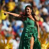 Singer Ivete Sangalo performs during the closing ceremony prior to the 2014 FIFA World Cup Brazil Final match between Germany and Argentina at Maracana on July 13, 2014 in Rio de Janeiro, Brazil.