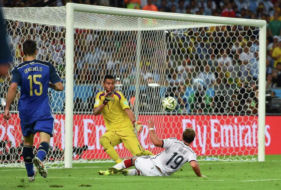 July 13 - Championship game  Germany 1, Argentina 0 (extra time) Photo: Matthias Hangst, Getty Images / 2014 Getty Images