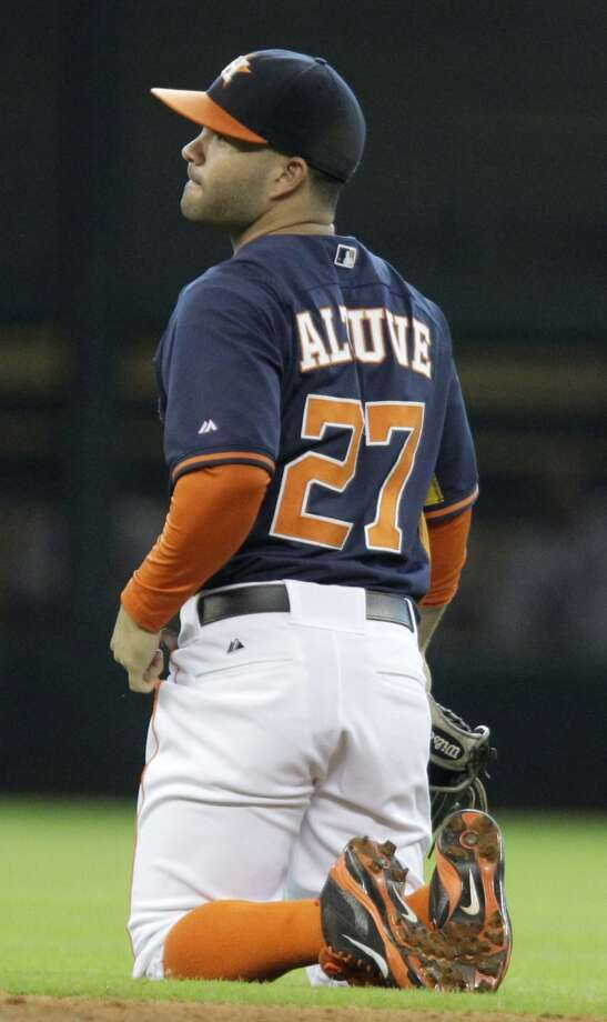 July 13: Red Sox 11, Astros 0  Houston enters the All-Star break on a low note after being manhandled by Boston.  Record: 40-56. Photo: Melissa Phillip, Houston Chronicle