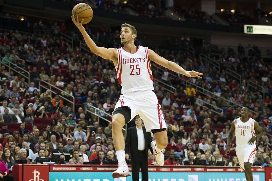 2013-14 season  In his third season, Parsons again improved his numbers, averaging career bests in the three major offensive categories: 16.6 points, 5.5 rebounds and 4 assists. Photo: Smiley N. Pool, Houston Chronicle