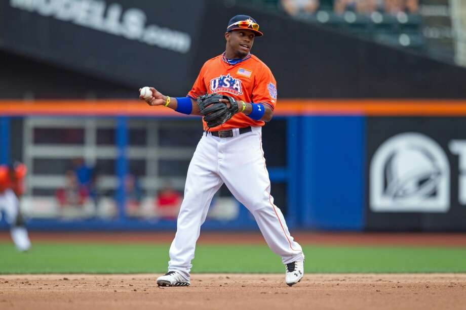 2013: Delino DeShields Jr., OF Photo: Brace Hemmelgarn, Getty Images