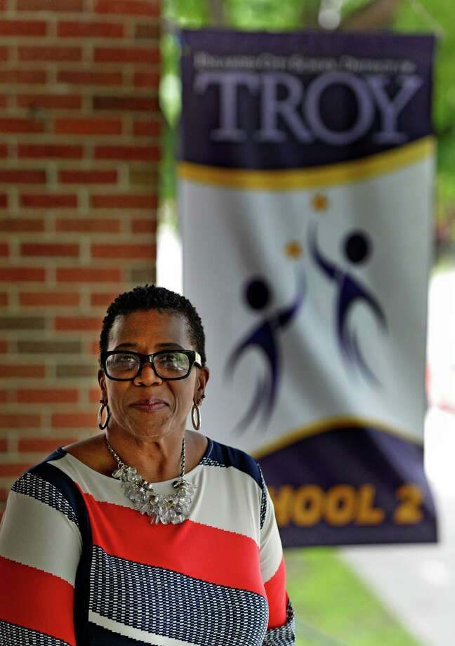 Dr. Maxine Fantroy-Ford who left the Albany School District to become the principal of Troy School 2 is interviewed by the Times Union at her new office July 9, 2014 in Troy, N.Y.   (Skip Dickstein / Times Union) Photo: SKIP DICKSTEIN / 00027633A