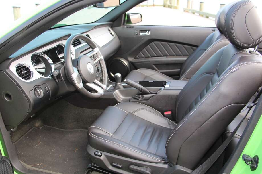 Front seats are comfortable and adjustable.