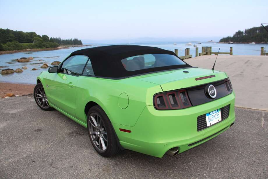 The Mustang convertible starts at $25,335 and the GT convertible can be had for a base of $34,035. Our test model had an EPA fuel mileage rating of 15/26 mpg, city/highway.