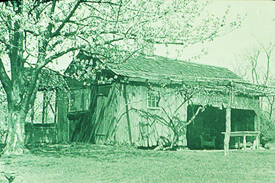 This undated photo of  the slave quarters at Gold Selleck Silliman's House, 506 Jennings Road, was taken by Mabel Osgood Wright, a Fairfield philanthropist. Gold Selleck Silliman, a military leader during the American Revolution, was one of the larger slaveowners in Connecticut. Mary Silliman, his wife, was reported to own seven slaves around 1790. Courtesy: Fairfield Museum and History Center Photo: Contributed Photo / Fairfield Citizen