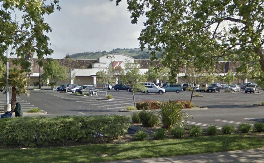 A man arrested for shoplifting at a K-Mart at 3771 Cleveland Ave. in Santa Rosa Sunday allegedly bit one officer several times on the hand and arm. Photo: Google Maps