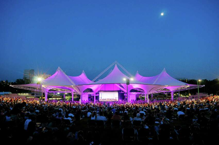 The Cynthia Woods Mitchel Pavilion is a 16,000-seat outdoor amphitheater that provides an array of performing arts and contemporary entertainment. In 2013, The Pavilion was ranked as the No. 2 outdoor amphitheater by Pollstar Magazine based on ticket sales.