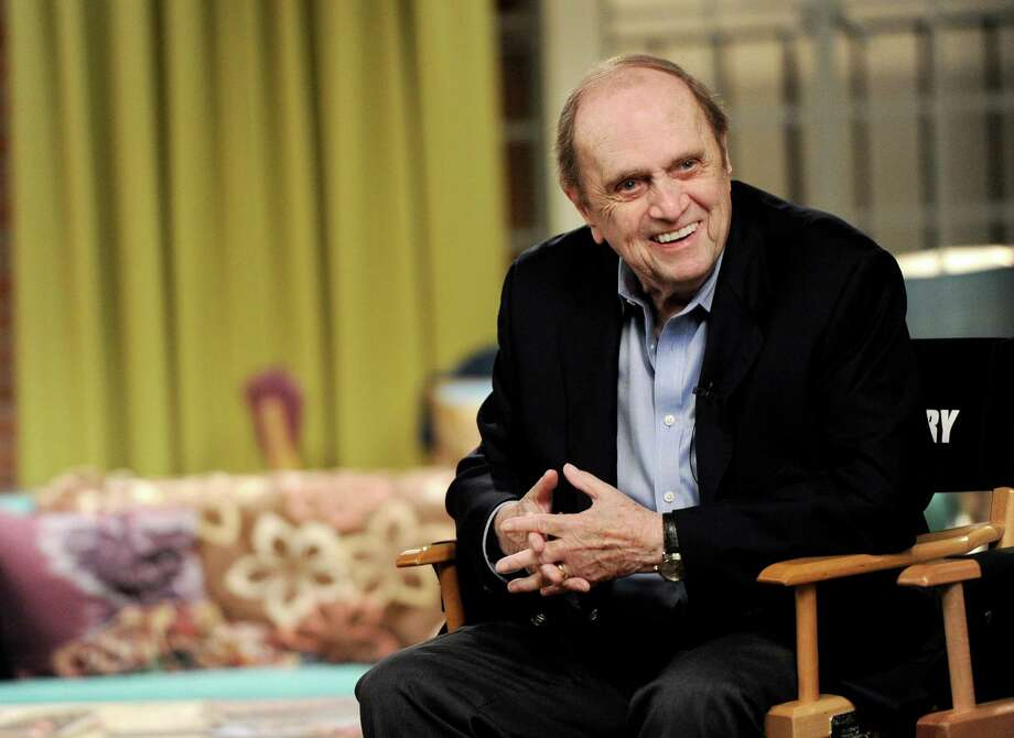 "Actor Bob Newhart appears on the set of ""The Big Bang Theory"" for a dialogue with members of The Academy of Television Arts and Sciences at Warner Bros. Studios on August 15, 2013 Photo: Kevin Winter, Staff / 2013 Getty Images"