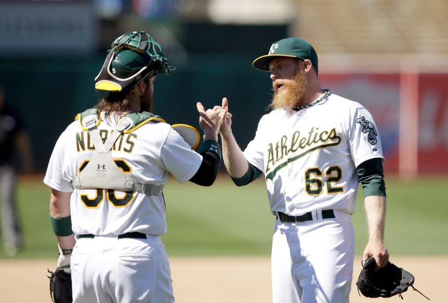 "Sean Doolittle   Wasn't expected to be a 2014 All-Star because: A hitting prospect-turned-pitcher-turned-All-Star? Really?  His story: Doolittle had his dream to play first base in the majors dashed because of knee and wrist injuries. In 2011, director of player development Keith Lieppman converted him to a pitcher, which he also was at Virginia, setting school records in both RBIs and wins. Soon, he was clocked at 97 mph and began building a repertoire. Minor-league rehab coordinator Garvin Alston said the lefty ""can be an impact reliever, and very soon."" Doolittle was an A's setup man in June 2012, completing a swift makeover. Photo: Ezra Shaw, Getty Images"