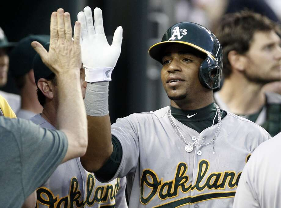 Yoenis CéspedesWasn't expected to be a 2014 All-Star because: He wasn't even good enough to play on Cuba's top teams, supposedly.His story: His father, Cresencio Céspedes, was a catcher in Cuba and separated from his mother, Estela Milanés, when Yoenis was an infant. She was a star softball pitcher and made her son's first bat out of a tree branch and polished it with glass. He went on to play eight seasons in the Cuban winter league and made it big internationally in the 2009 World Baseball Classic, hitting .458 in eight games. But somehow he was assigned to Cuba's third team, accelerating his defection. The A's signed him for $36 million over four years, a then-record contract for a Cuban defector. He eventually was reunited with family members, including his mother, who took a long and dangerous journey to the U.S. Photo: Duane Burleson, Associated Press